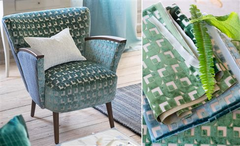 Curtain and Sofa Fabrics