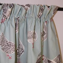 Cottage pleats Curtain